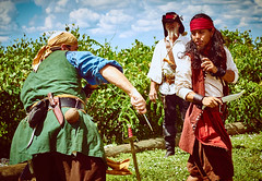 DSC02602 (Welshmenphotos) Tags: pirates sony a6000 konica 40mm sigma quantaray 28mm festival florida punta gorda photography photographer photos swords knives fencing guitar music live concert fineart fine art