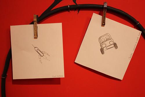 Zeichne mir eine Idee