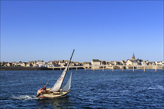 Bon vent! (chando*) Tags: bretagne brittany finistre mer navigation roscoff sail sailing sailingboat sea voile voilier