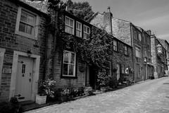 Haworth (dentonkarl) Tags: blackandwhite bronte haworth village