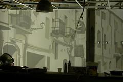 Bar Max (Borobros Bureau Creativo) Tags: borobrosbureaucreativo farolas balcones pintura mural decoracin interior negocio