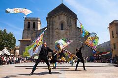 Standard bearers (Jordi Ramon Fotografia) Tags: besal catalonia standardbearers medieval show popular