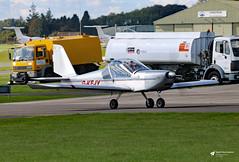 G-KEJY EV-97 TeamEurostar UK, Cotswold Airport, Kemble, Gloucestershire (Kev Slade Too) Tags: gkejy ev97 teameurostar egbp kemble cotswoldairport gloucestershire