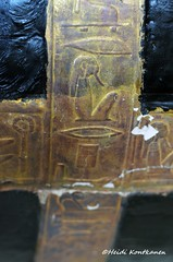 Ancient Egyptian Coffin (konde) Tags: yuya 18thdynasty newkingdom ancient kv46 cairomuseum coffin hieroglyphs