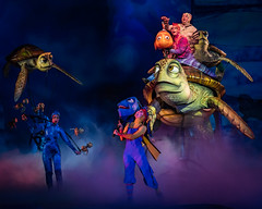 Go With the Flow (Don Sullivan) Tags: findingnemothemusical findingnemo crush gowiththeflow disneysanimalkingdom stage musical waltdisneyworld nikond500 walt disney world animal kingdom