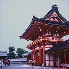Kasuga Taisha Shrine, Nara, Japan - Film Rolleiflex (Photo Alan) Tags: rolleiflex rolleiflex28f 6x6 japan nara kasugataishashrine outdoor travel