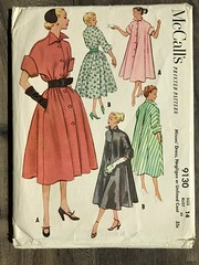 9130 (mrogers1@uw.edu) Tags: complete sewingpatterncollection 1950s vintage dress jacket negligee lingerie
