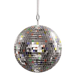 Multi Colored Giant Mirror Ball (iamdavidmcmahon) Tags: electricalequipments ledlights mirrorball