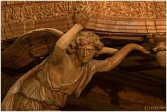Engel (HP016244) (Hetwie) Tags: church kerk lachaisedieu lahauteloireengel schreinwerk houtsnijwerk france angel frankrijk hauteloire frankrjk