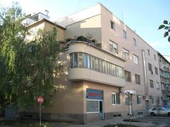Novi Sad City Centre - Modernism in the city centre (Neotalax) Tags: novisadcitycentre novisad vojvodina serbia djordjetabakovic modernism moderna ilijaognjanovicstreet ulicailijeognjanovica