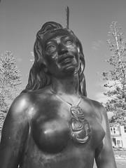 Pania Napier Hawkes Bay New Zealand (eriagn) Tags: bronze statue pania napier hawkesbay newzealand maori heitiki portrait sculpture eriagn ngairehart photography art legend mythology paniaofthereef hair maiden tourism