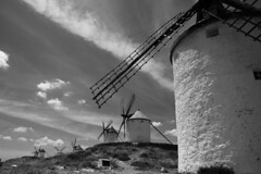 IMG_7693 (Fencejo) Tags: bw blackandwhite quijote monsters la mancha tamron175028 canon400d