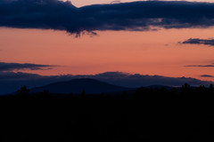 Greetings From Greenville (Northern Wolf Photography) Tags: 75300mm clouds em5 moosehead mountain olympus pink sunset greenville maine unitedstates us