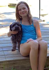 0621 (Jean Arf) Tags: pineplains ny newyork antlerclub summer 2016 tess truman dog