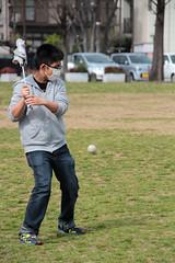 Baseball Practise (Toni Kaarttinen) Tags: japan  japonia    jap japonsko jaapan  japani japon xapn    japn jepang an tseapin giappone  japna japonija  japo  japonska japn hapon  japonya nht bn japanese kawasaki spring daishi park daishipark umbrealla baseball boy