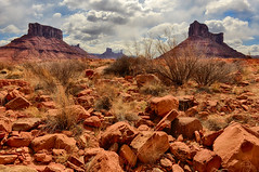 Rocks in the Valley (Jeff Clow) Tags: nature landscape bravo rocks rugged moabutah theoldwest professorvalley rockyrapids theriverroad dcpt tpslandscape