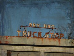 --rry Bro Truck Stop (jimsawthat) Tags: abandoned georgia rust decay truckstop enhanced macon metalsigns vintagesigns bypassed utrban oldus41