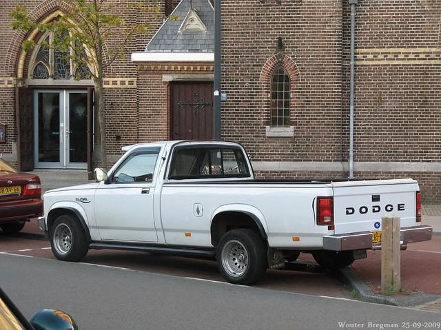 auto old usa classic haarlem netherlands up car vintage us automobile nederland pickup voiture american dodge 1994 pick paysbas dakota dodgedakota ancienne américaine