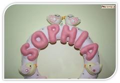 Guirlanda da Sophia (mfuxiqueira) Tags: de passarinho guirlanda porta feltro menina decorao maternidade ursinho decoraoinfantil decoraobeb