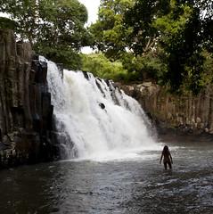 Rochester Falls Mauritius (Raymond Dixon) Tags: trees holiday hot water beautiful digital canon eos waterfall amazing paradise all flood pebbles dixon colourful dslr mauritius saltwater torrent deluge rochesterfalls llens canonllens 1635mmf28lii 5dmkii eoscanon5dmkii raymonddixon