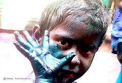 holi-2013: ColorEd Face 2... (killchorkhan) Tags: street old blue motion black color festival canon photography dance colorful asia noir close mask action expression candid smoke avatar religion grain streetphotography lifestyle celebration everyone dhaka moment dslr noise hindu bangladesh lightandshadow puja beautyful festivalx glittering dolx day331 lightx 600d 2013 holix bokehwednesday canon600d shakharibazar portraitx photographersx bangladeshx dhakax placex bazarx sheikhx gettyimagesbangladeshq12012 famousx demo2012 bonfire2012 killchorkhan jatrax festivex sakharix potherx shilpix mehedix bangladeshix
