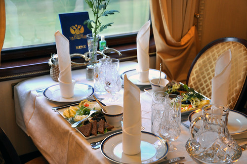 The Golden Eagle luxury train
