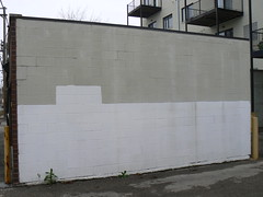 buffed wall (httpill) Tags: streetart chicago art wall graffiti tag graf buff walls removal buffed graffitiremoval buffedwalls