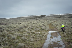 Wild Horse Table (Trail Image) Tags: snow idaho riding motorcycle badmemory benjohnson kawasakiklr650