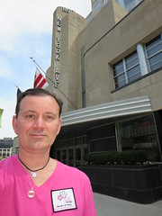 Ryan Janek Wolowski, visits The Freedom Riders Greyhound Bus Terminal Station site in Washington, D.C. USA (RYANISLAND) Tags: usa history america freedom washingtondc dc washington ride american africanamerican civilrights racial equality riders americanhistory segregation freedomride freedomriders racialsegregation
