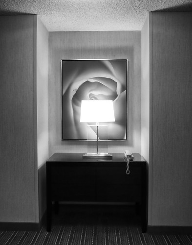 Alcove in a downtown hotel, Portland Oregon