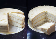 Lemon-Lemon Drop Cake 3 (clapanuelos) Tags: cake baking lemon celebration layercake