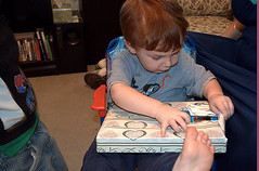 opening gifts 2 (*Melanie*) Tags: birthday grayson age2