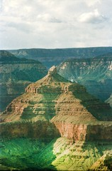 Grand Canyon steep-sided canyon carved by the Colorado River in the U.S. state of Arizona in North America 1987 067 (photographer695) Tags: grand canyon steepsided carved by colorado river us state arizona north america 1987