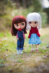 Matilda and Linnéa...