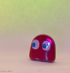 My Tin (derena_d.) Tags: red tin remember ghost pacman memorabilia