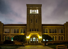 El Segundo High School (Images by April) Tags: nightphotography architecture night canon belltower highschool 5d markii elsegundohighschool