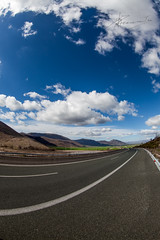 destination nowhere (dtsortanidis) Tags: road blue sky white clouds canon photography mark fisheye route greece ii 5d 1001nights dimitris dimitrios 1001nightsmagiccity 815mm tsortanidis dtsortanidi