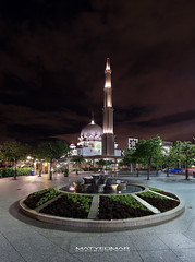 Putra Mosque Night View (matyeo) Tags: canon nightscape malaysia putrajaya dri hdr putramosque 5dmkiii matyeo