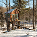The Tiny Fern Forest Treehouse - Lincoln, VT - 2013, Feb - 05.jpg by sebastien.barre