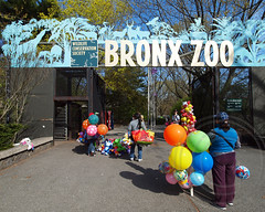 Southern Boulevard Gate, Bronx Zoo, New York City (jag9889) Tags: park city nyc wild ny newyork nature animals zoo gate belmont bronx bronxzoo species borough habitats zoological wcs bronxpark wildlifeconservationsociety naturalistic