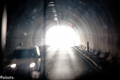 Light at the end of the Tunnel (ako_ni) Tags: road light turkey engineering spotmetering sigma1770 canon450d bweffecttunnel