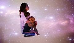 The power of Imagination (Sarabbify) Tags: stars floating levitation books