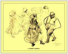 1900 August Dance Illustration by Andr Castaigne  'A Flemish Kermess' (carlylehold) Tags: opportunity history robert st mobile louis dance dancing dancer email here smartphone join stories tmobile andr happens signup haefner castaigne solavei haefnerwirelessgmailcom