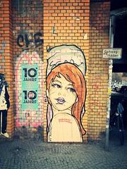 Street Art Berlin (christianstobbe) Tags: streetart stencils berlin pasteup art germany poster deutschland graffiti stencil sticker stickerart mural murals spray urbanart posterart pasteups wheatpasting spraypaintart wheatpastings