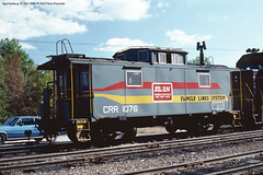 CRR cab 1076 Spartanburg SC Oct 1980 (Engine Shed) Tags: caboose clinchfield piszczek