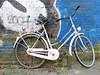 Dutch bikes #15 (ingehoogendoorn) Tags: blue white holland bike blauw nederland thenetherlands bikes wit fietsen fiets bikeparking bikewreck dutchbikes