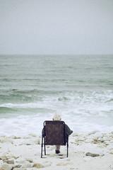 (koeb) Tags: ocean ca man beach drive monterey chair 17 chill mile