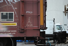 Take Cinco (QualMPLS) Tags: graffiti streak boxcar take5 markal moniker takefive southerpacific