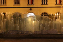 Wroclaw - Rynek Fountain at Night (Christopher OKeefe) Tags: fountain poland wroclaw marketsquare rynek breslau