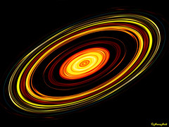 Saturn (HansHolt) Tags: vortex lightpainting abstract motion art speed photoshop circles kunst twist rings twirl spinning planet rotation saturn curl orbit cosmos multicolor krul beweging snelheid rotatie draaikolk olympusmju9010